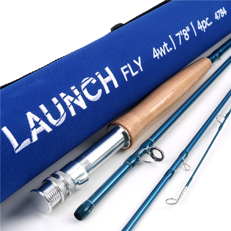 Fmo launch fly rod built specifically for the youth angler for Fishing rod sun and moon